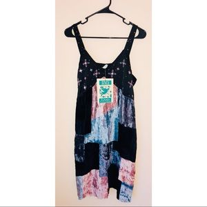 NEW Papy Boez Hand Embroidered Dress Size M
